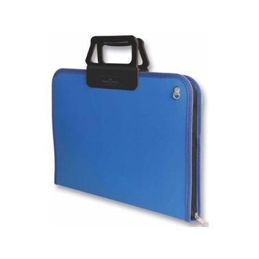 Faber Castell Proje Çantası 28X38Cm Mavi Renkli